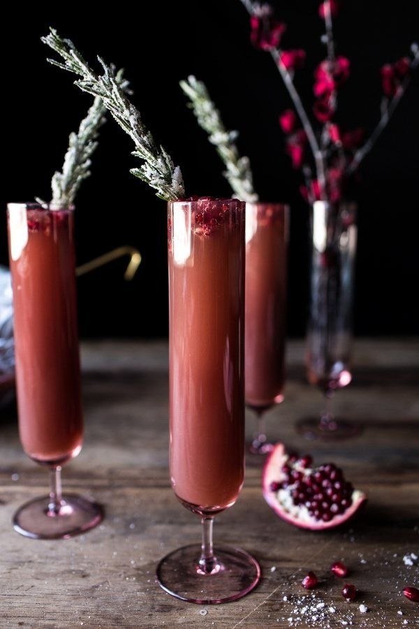 """<strong>Get the <a href=""""http://www.halfbakedharvest.com/sparkling-pomegranate-punch/"""" target=""""_blank"""">Sparkling Cranberry Pu"""
