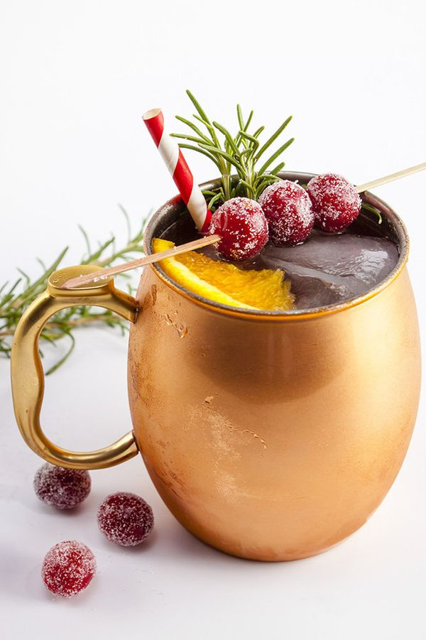 """<strong>Get the <a href=""""http://www.homesweetjones.com/holiday-mule/"""" target=""""_blank"""">Holiday Mule (Ginger Beer, Gin Or Vodka"""