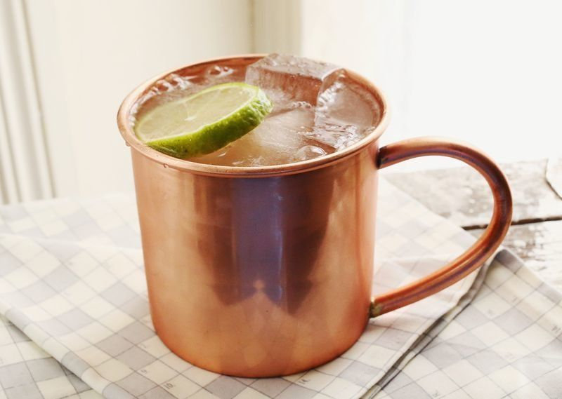 moscow mule recipes - Moscow Mule Copper Mug