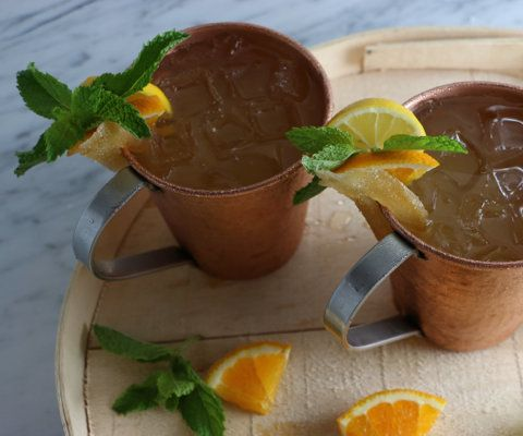 """<strong>Get the <a href=""""http://somethingnewfordinner.com/recipe/orange-moscow-mule/"""" target=""""_blank"""">Orange Moscow Mule reci"""