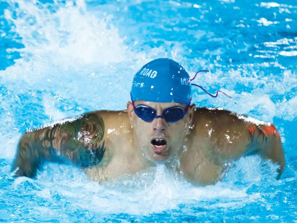 Charles McPeak: The discipline and goal-setting of triathlon training and masters swimming has helped me follow my pill regim