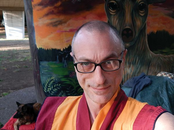Kelsang Phunrab: As an American Buddhist monk, I would love to show that you can still care for and inspire others, even if y