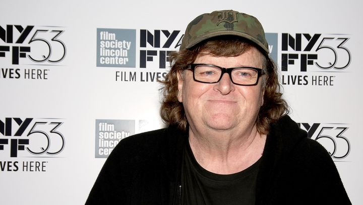 American documentary filmmaker Michael Moore thinks Michigan Gov. Rick Snyder's (R) ban on Syrian refugees is a bunch of hooe