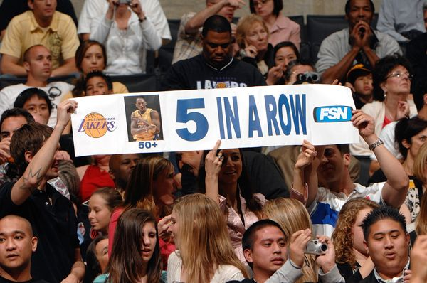 After failing to score 50 in a fifth straight game, he characterized his 43-point performance on March 25, 2007, as an &ldquo