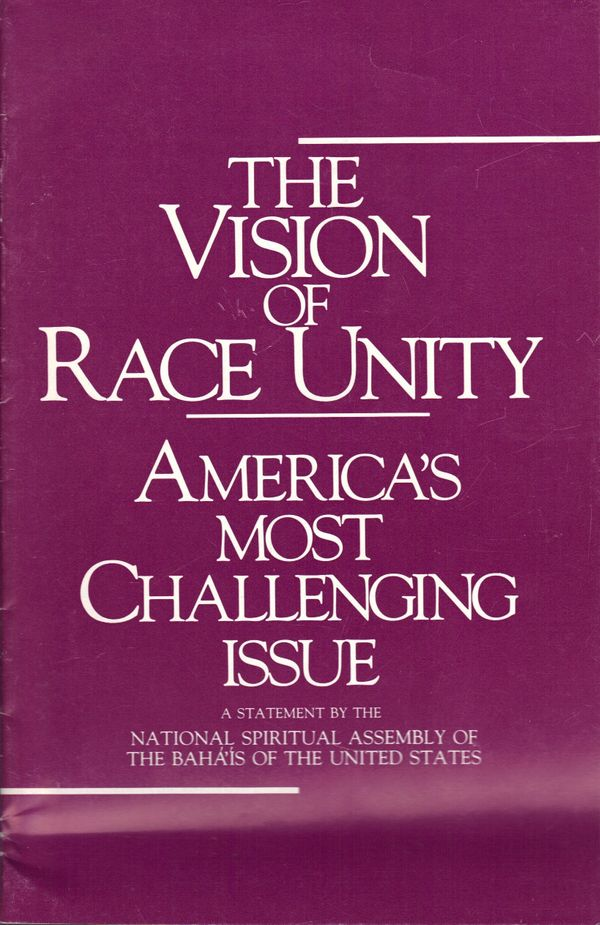 """Published by the National Spiritual Assembly of the Baha'is of the United States, this <a href=""""http://www.amazon.com/Vision-"""
