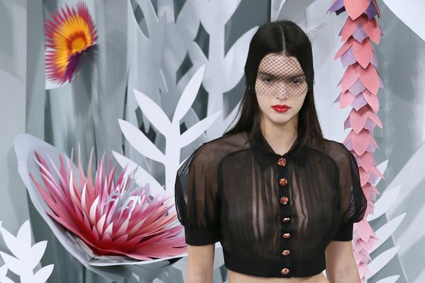 Kendall Jenner caused her fair share of buzz when she walked the Chanel couture show back in January wearing a