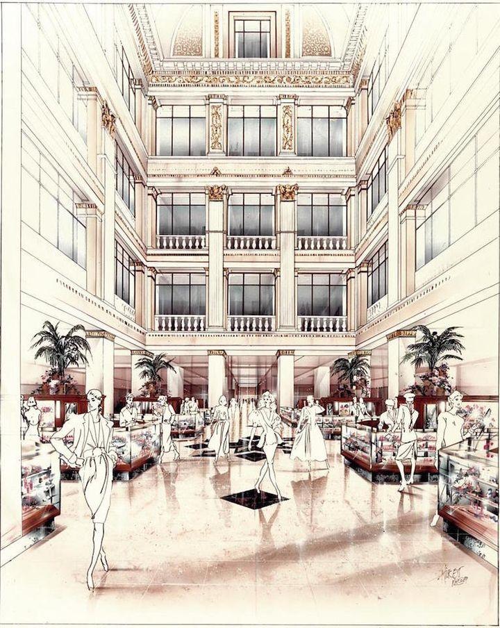 <i>Field's Chicago Marshall Design Rendering</i>,&nbsp;Jim Terrell