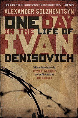 "<strong><a href=""http://amzn.to/1NYSifw"">One Day in the Life of Ivan Denisovich</a>&nbsp;</strong><br>by Alexander Solzhenits"