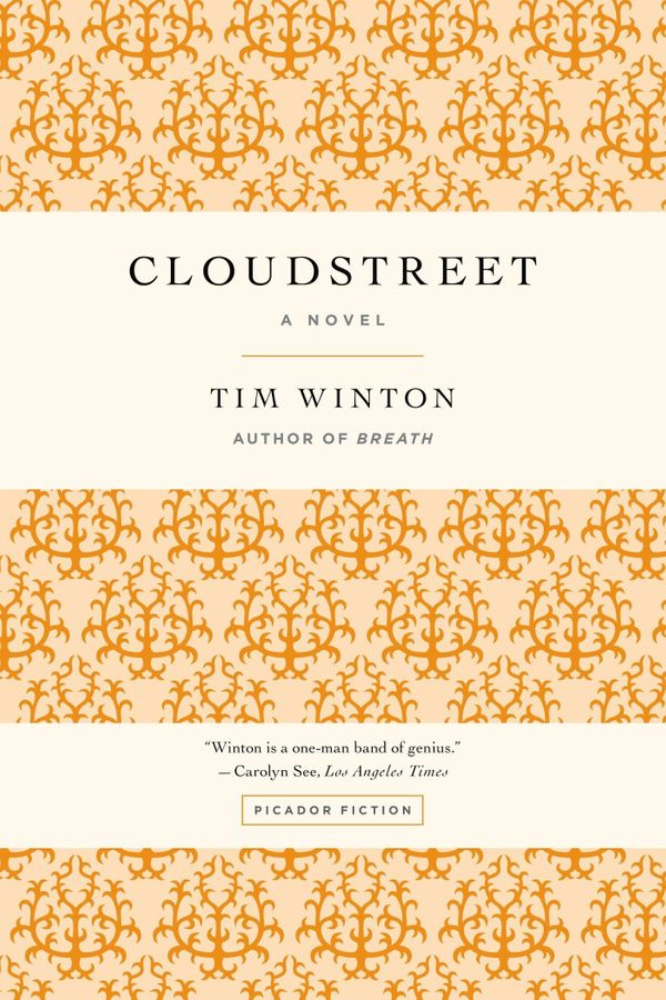 "<strong><a href=""http://amzn.to/1NYSLye"">Cloudstreet</a></strong><br>by&nbsp;Tim Winton<br><br><i>""An epic novel that regular"