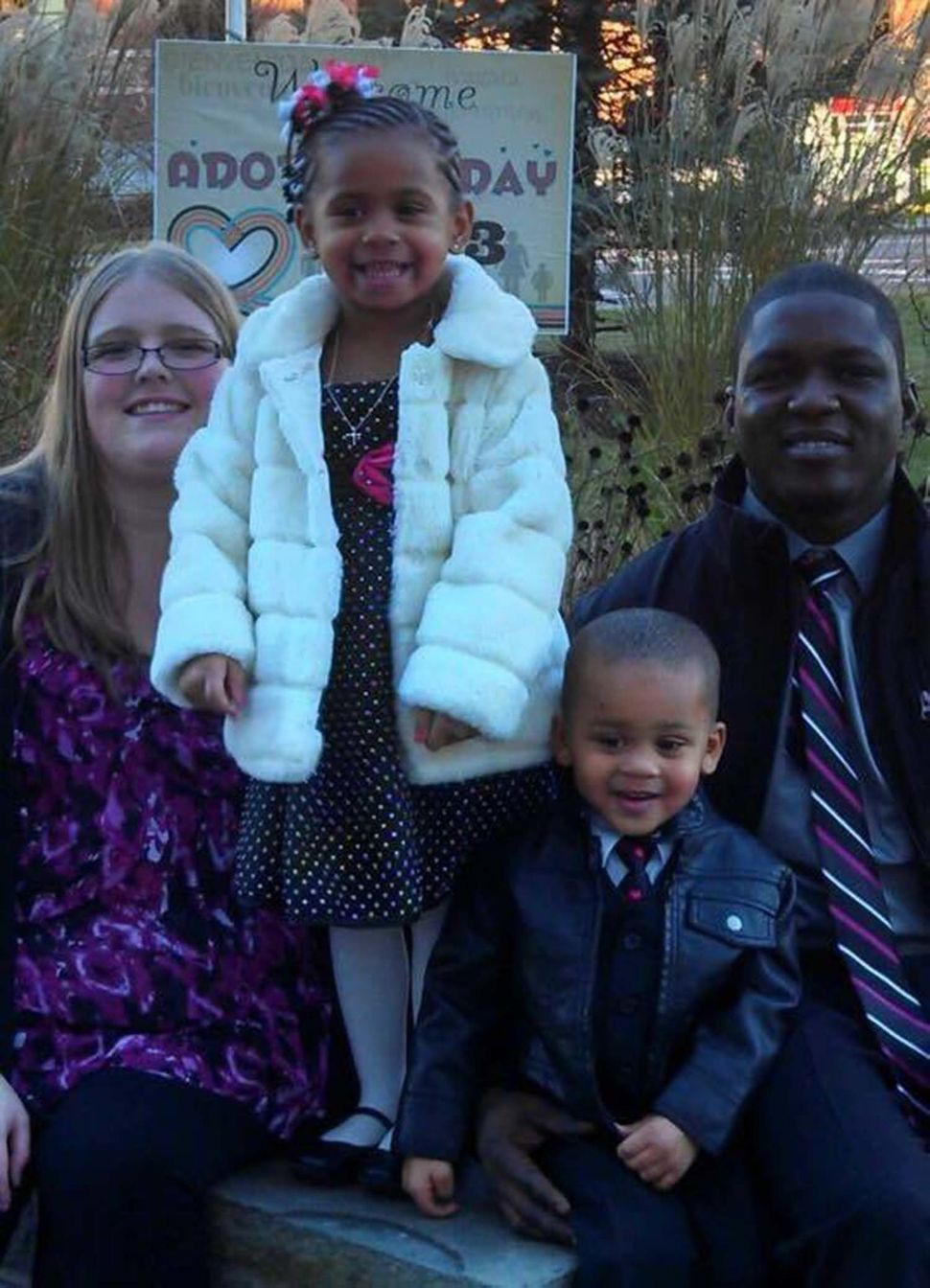 """<i>""""We adopted our children two years and four months after they were placed in foster care with us -- Nov 20, 2013,"""" mom&nbs"""