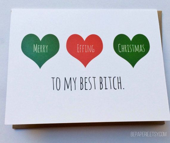 21 Very Merry Holiday Cards For Every Bff Huffpost
