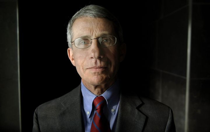 Anthony Fauci, director of the National Institute of Allergy and Infectious Diseases, poses for a photograph in 2007. Fauci found himself standing at the crossroads of progress in the early fight against HIV/AIDS.