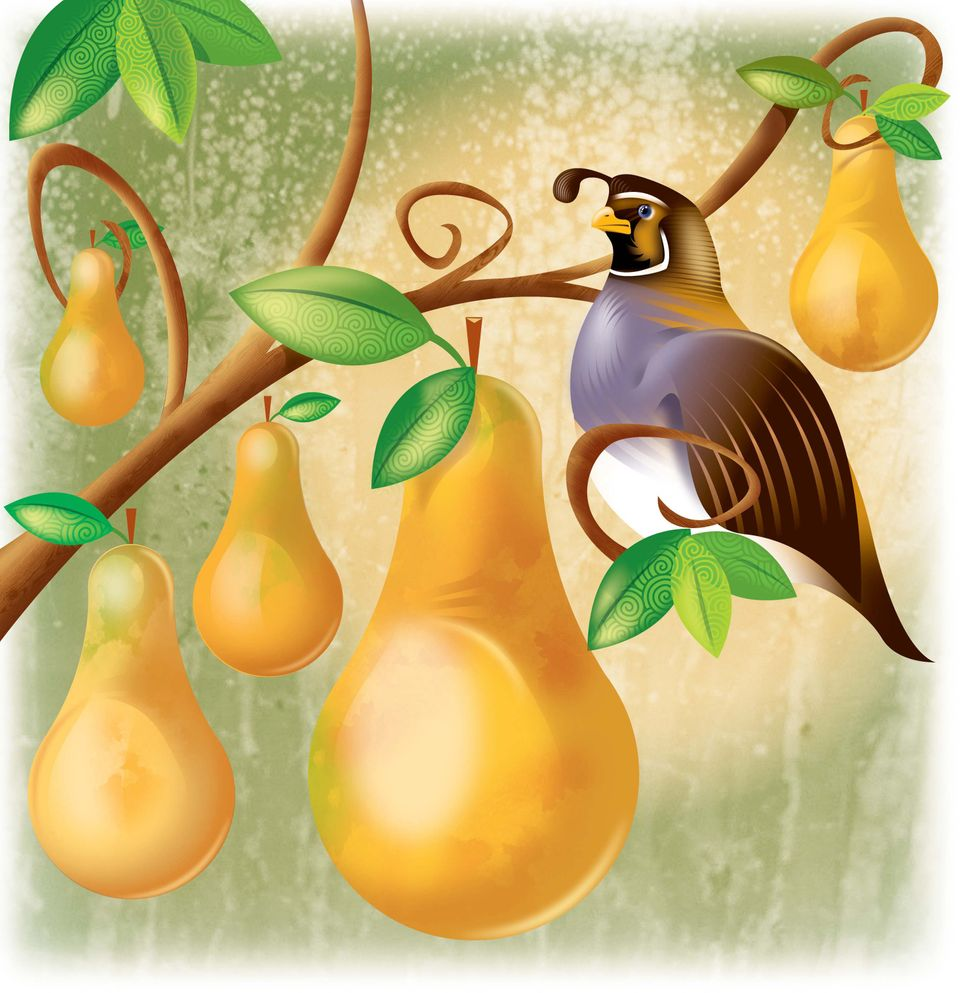 A partridge in a pear tree now costs $215, up $7 from 2014.