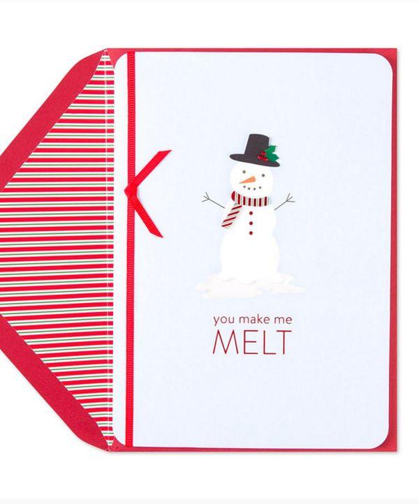 "Buy it <a href=""http://www.papyrusonline.com/greeting-cards/christmas-greeting-cards/funny-christmas-cards/melting-snowman.ht"