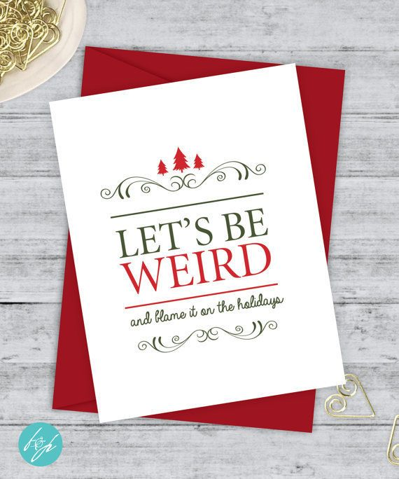 17 cheeky holiday cards for couples who share a sense of humor buy it a m4hsunfo Choice Image