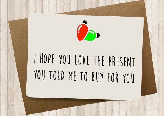 """Buy it <a href=""""https://www.etsy.com/listing/248341814/funny-christmas-cards-funny-holiday-card"""">here</a>."""