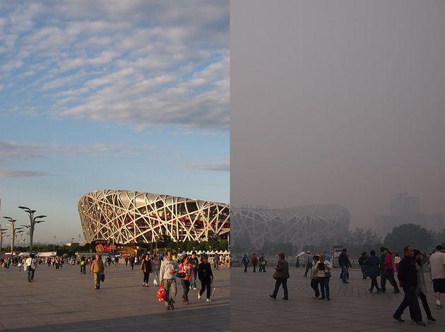 Beijing's National Stadium, better known