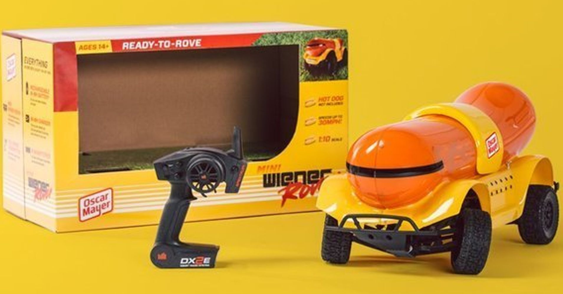 this remote control wienermobile will make your holiday sizzle huffpost. Black Bedroom Furniture Sets. Home Design Ideas