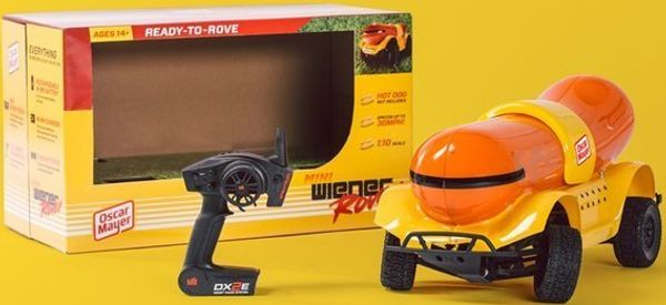 This Remote Control Wienermobile Will Make Your Holiday Sizzle