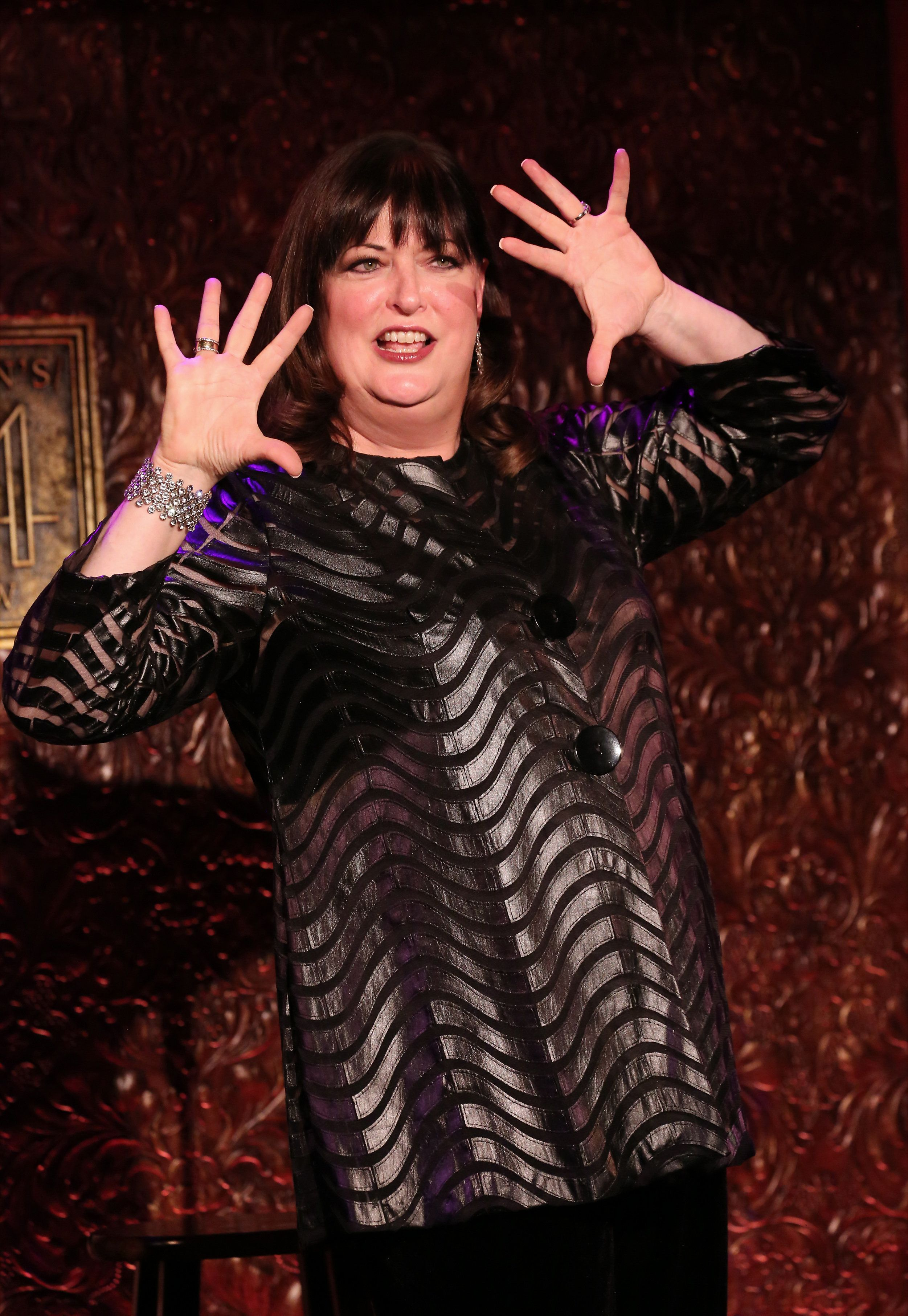 NEW YORK, NY - NOVEMBER 20:  Ann Hampton Callaway previews her new show 'Feminine Persuasion' at the Feinstein's/54 Below on November 20, 2015 in New York City.  (Photo by Walter McBride/Getty Images)