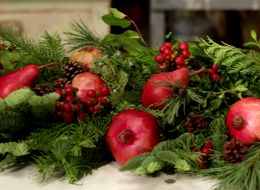 A DIY Holiday Garland That Looks Way More Expensive Than It Is