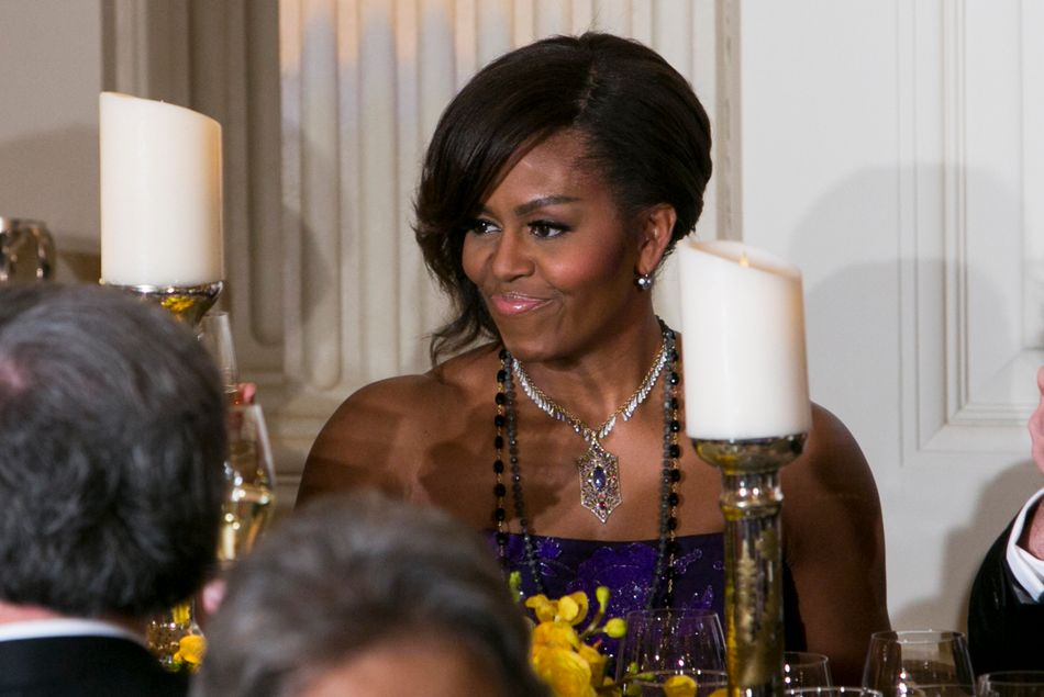 Image result for michelle obama necklace collection