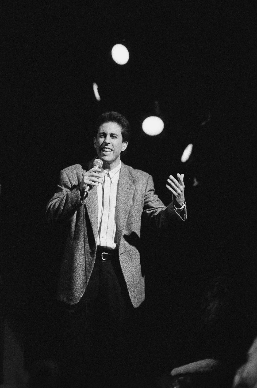 SEINFELD -- 'The Seinfeld Chronicles/Pilot' Episode 1 -- Pictured: Jerry Seinfeld as Jerry Seinfeld  (Photo by NBC/NBCU Photo Bank via Getty Images)