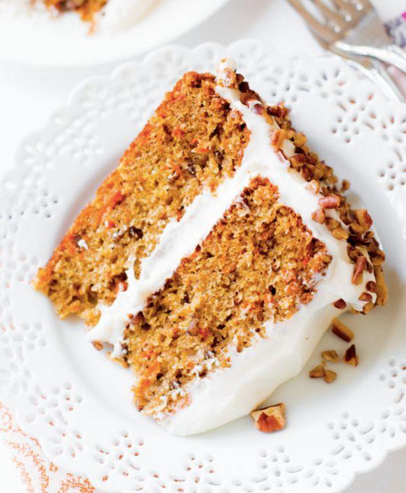 "<strong>Get the <a href=""http://sallysbakingaddiction.com/2015/03/23/my-favorite-carrot-cake-recipe/"" target=""_blank"">Classic"