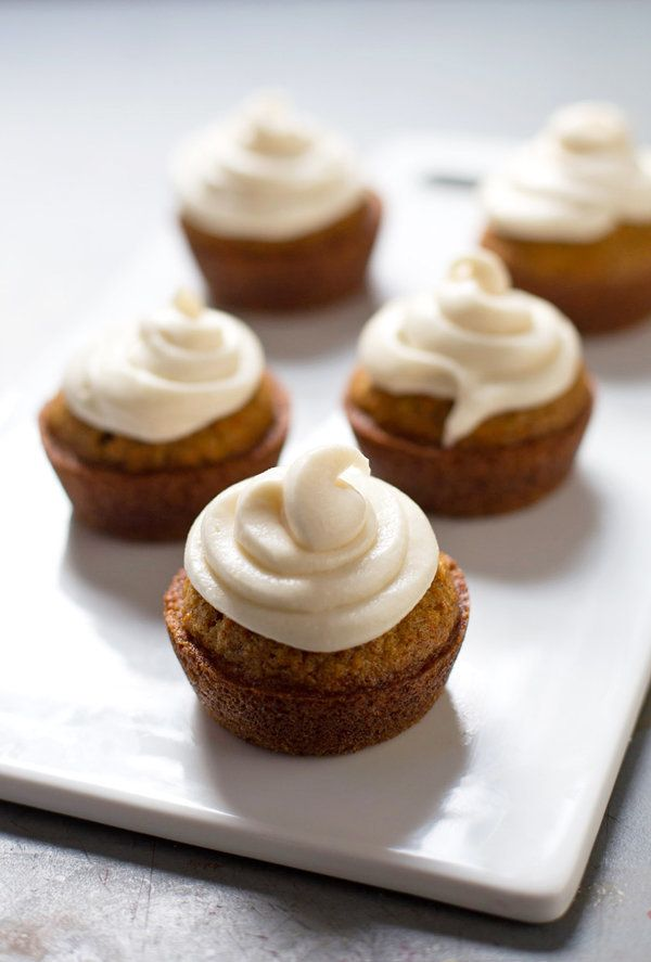 """<strong>Get the <a href=""""http://pinchofyum.com/best-carrot-cake-cupcakes-with-cream-cheese-frosting"""" target=""""_blank"""">Carrot C"""
