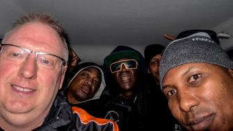 A Sheffield photographer became chauffeur to the stars after a taxi gaffe left rap legends Public Enemy stranded – moments before their arena performance. Gig snapper Kevin Wells had to 'fight the power' of traffic in his Ford Focus to get rappers Chuck D, Flavor Flav and entourage to the Motorpoint Arena ahead of their show with The Prodigy.