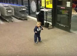 Toddler Amazed By Automatic Doors Finds Wonder In The Little Things