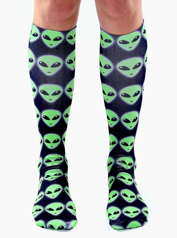 "If you're going to be abducted by aliens, why not do it in style? Certainly, these <a href=""http://www.livingroyal.com/produc"