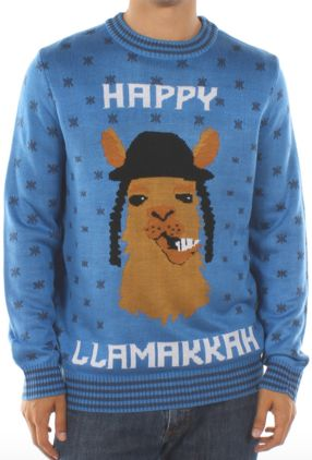 "Ugly sweaters may be associated with Christmas, but they are appropriate for other religions as well. I thought <a href=""http"