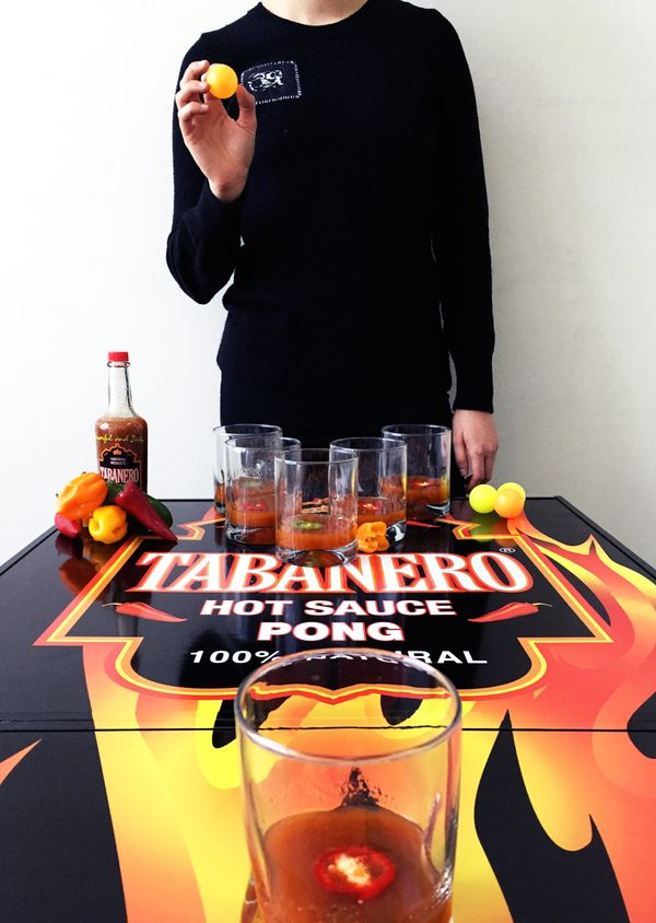 Beer pong is great for legal drinkers, but how is a person supposed to learn that all-important life skill when they're still