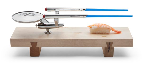 "Sushi: The final frontier? Maybe not, but the person who you give this ""<a href=""http://www.thinkgeek.com/product/f375/?pfm=S"