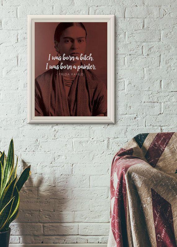 """<i>Buy it <a href=""""https://www.etsy.com/listing/247383500/frida-kahlo-art-print-poster-feminist?ga_order=most_relevant&amp;ga"""
