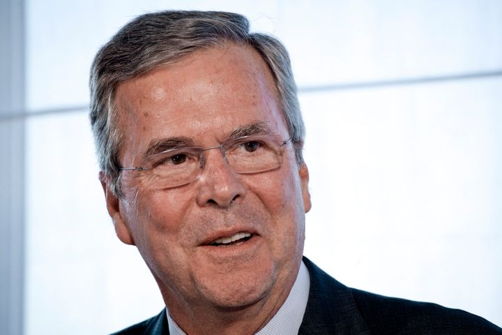"George Bush reportedly told Jeb to ""say whatever you have to say."""