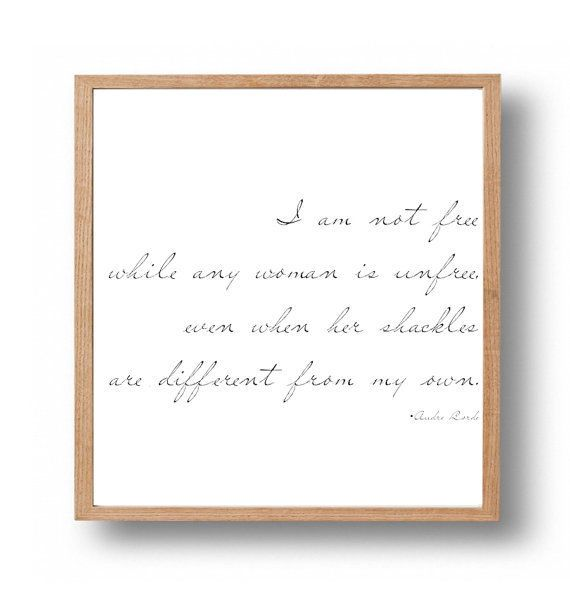 """<i>Buy it <a href=""""https://www.etsy.com/listing/181925703/audre-lorde-feminist-print-activism?ga_order=most_relevant"""">here</a"""