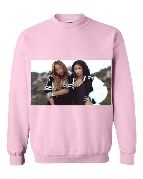 """<i>Buy it <a href=""""https://www.etsy.com/listing/257161450/beyonce-and-nicki-minaj-flawless-crew?ref=shop_home_active_1"""">here<"""