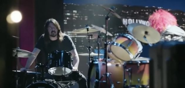 Everyone Wins In Dave Grohl's Ultimate Drum-Off Against Animal From 'The