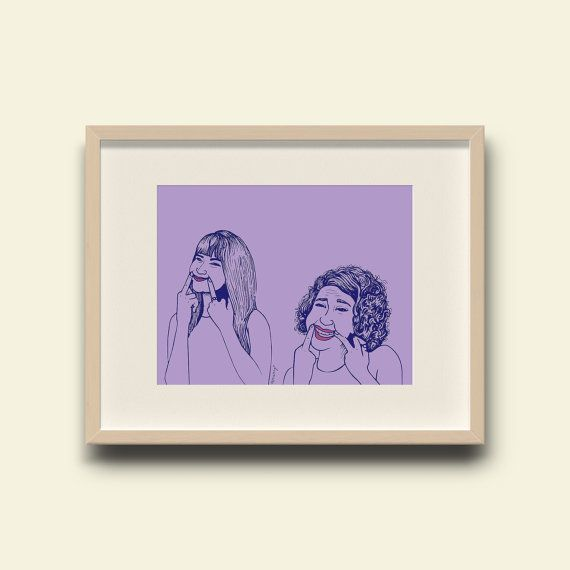 """<i>Buy it <a href=""""https://www.etsy.com/listing/249625830/dont-tell-us-to-smile-broad-city-print?ga_order=most_relevant&amp;g"""