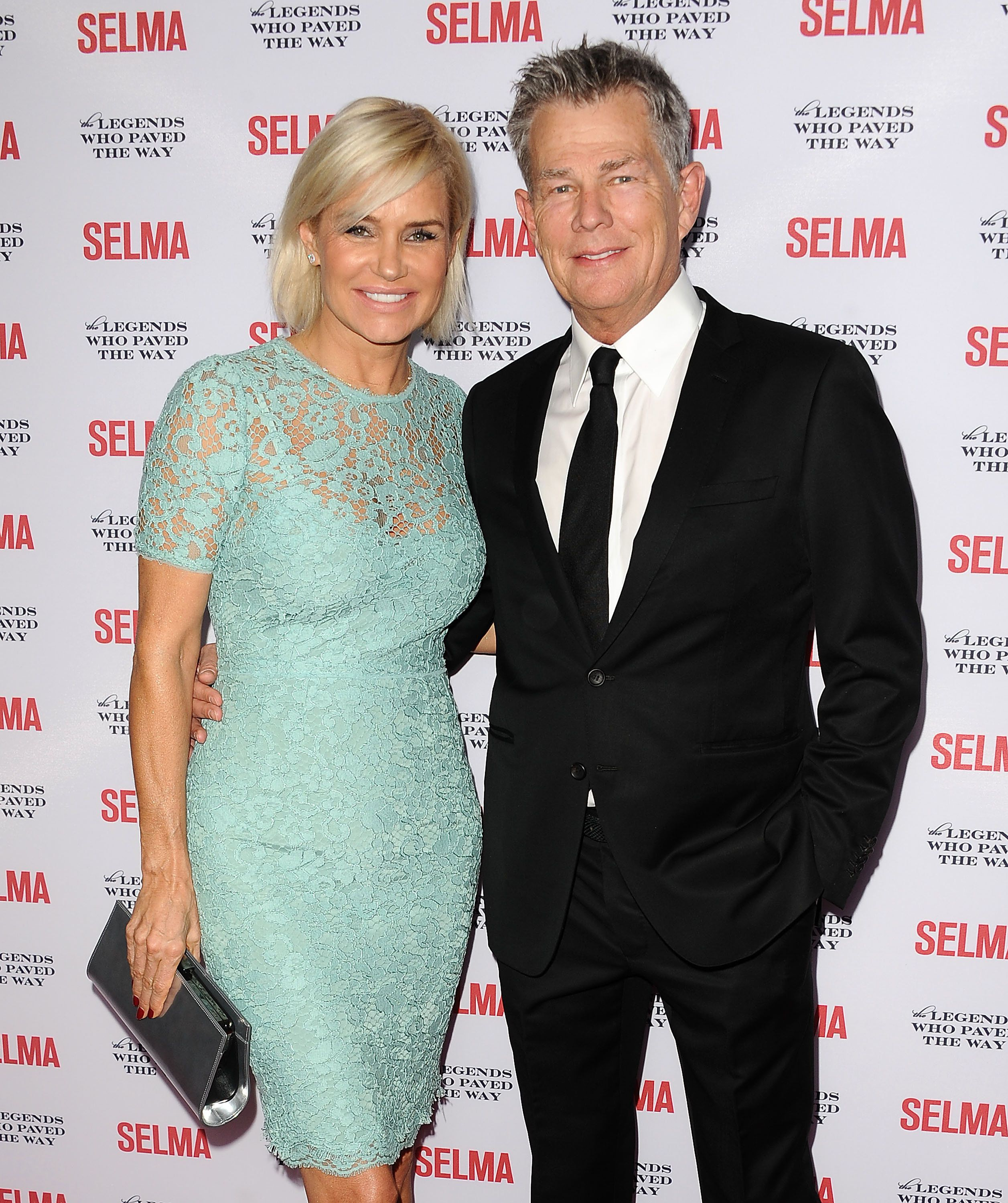 GOLETA, CA - DECEMBER 06:  Yolanda Foster and David Foster attend the 'Selma' and the Legends Who Paved the Way gala at Bacara Resort on December 6, 2014 in Goleta, California.  (Photo by Jason LaVeris/FilmMagic)