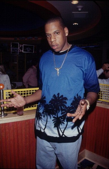 UNITED STATES - circa 1995: American rapper Jay-Z. (Photo by Time & Life Pictures/Getty Images)