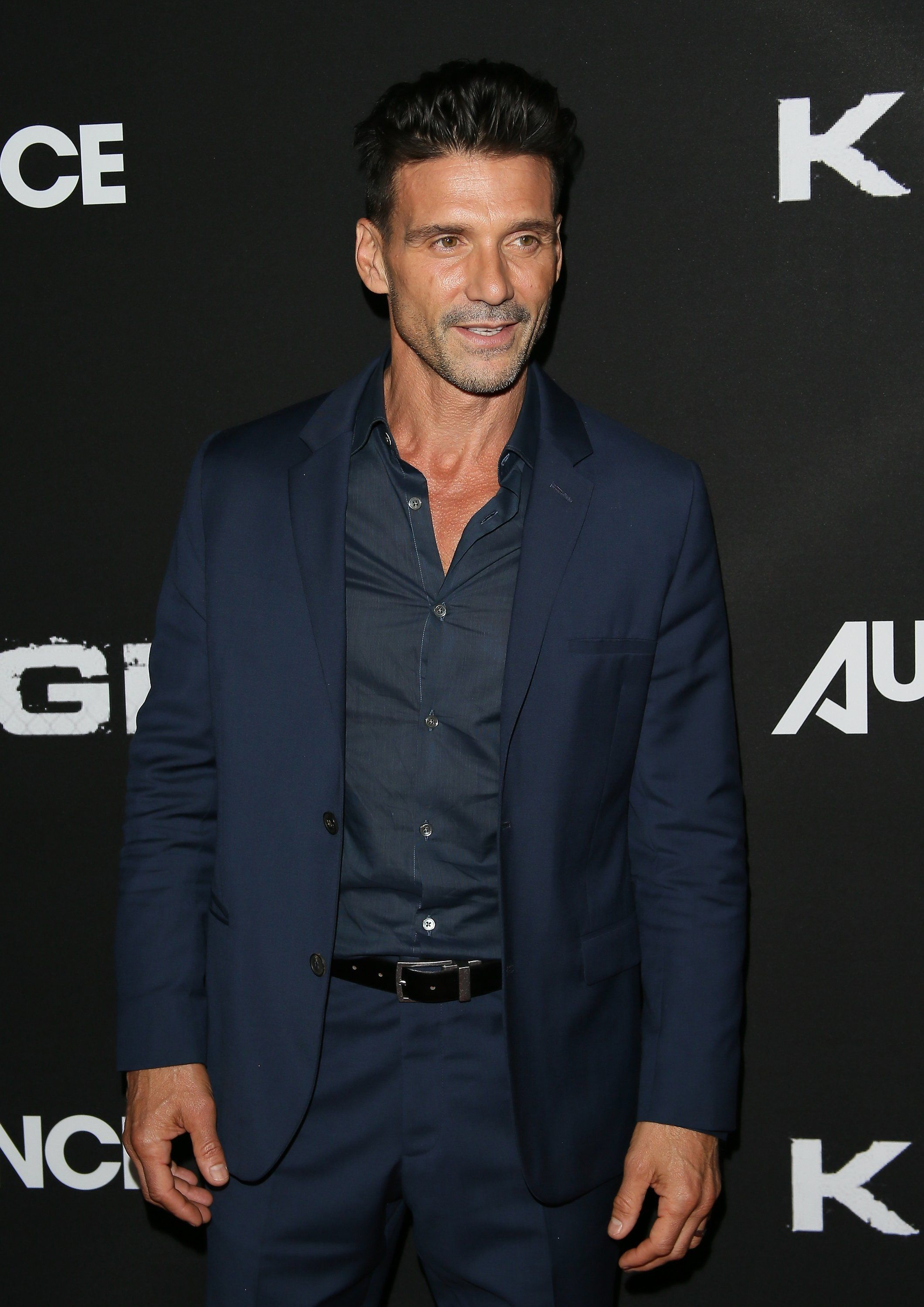 WEST HOLLYWOOD, CA - OCTOBER 06:  Frank Grillo attends the premiere of DIRECTV's 'Kingdom' Season 2 at the SilverScreen Theater at the Pacific Design Center  on October 6, 2015 in West Hollywood, California.  (Photo by JB Lacroix/WireImage)