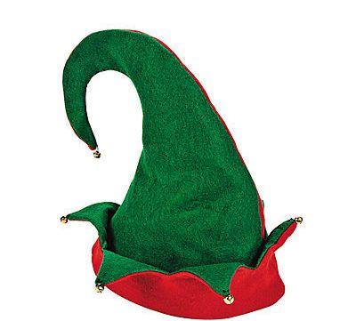 "Elf Hat $1.98, <a href=""http://www.orientaltrading.com/adults-elf-hat-a2-4_1165.fltr?prodCatId=551192+1240"" target=""_blank"">O"