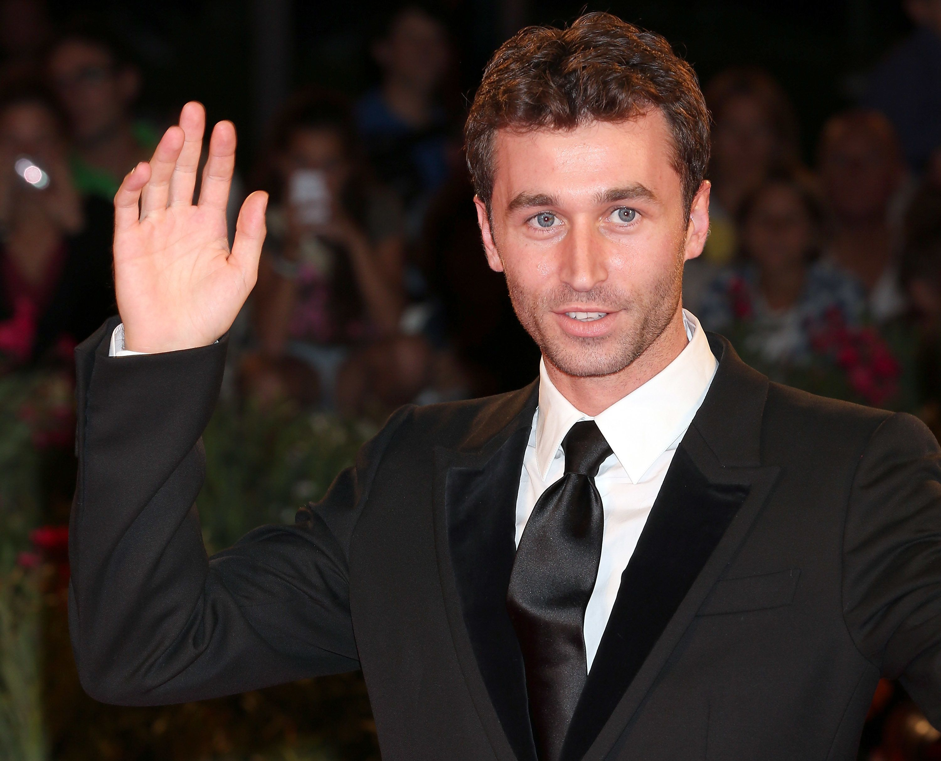 VENICE, ITALY - AUGUST 30:  Actor James Deen attends 'The Canyons' Premiere during The 70th Venice International Film Festival at Palazzo Del Cinema  on August 30, 2013 in Venice, Italy.  (Photo by Elisabetta A. Villa/WireImage)