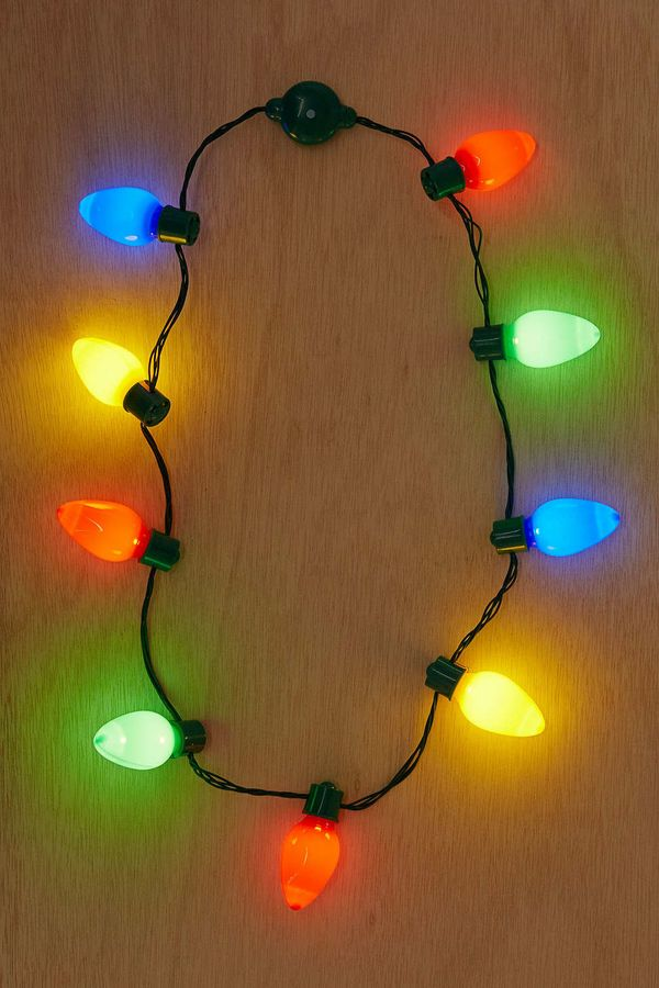 """Giant Holiday Light Up Bulb Necklace $12, <a href=""""http://www.urbanoutfitters.com/urban/catalog/productdetail.jsp?id=37386349"""