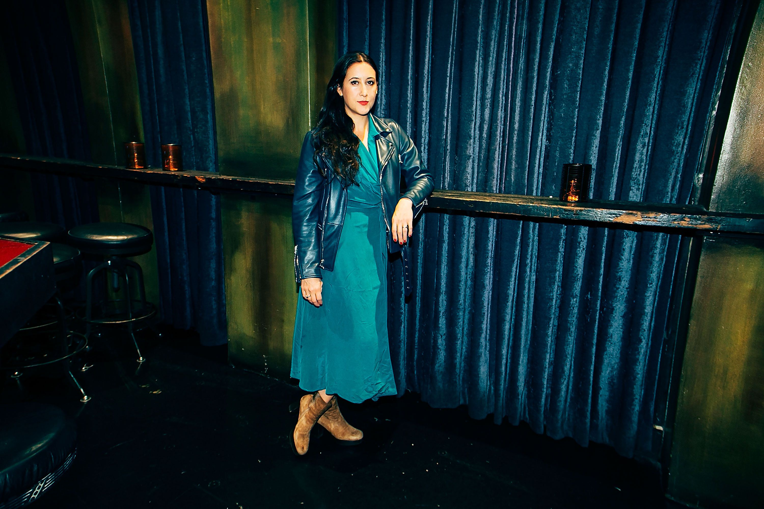 HOLLYWOOD, CA - SEPTEMBER 15:  Vanessa Carlton poses for a portrait at The Sayers Club on September 15, 2015 in Hollywood, California.  (Photo by Gabriel Olsen/FilmMagic)