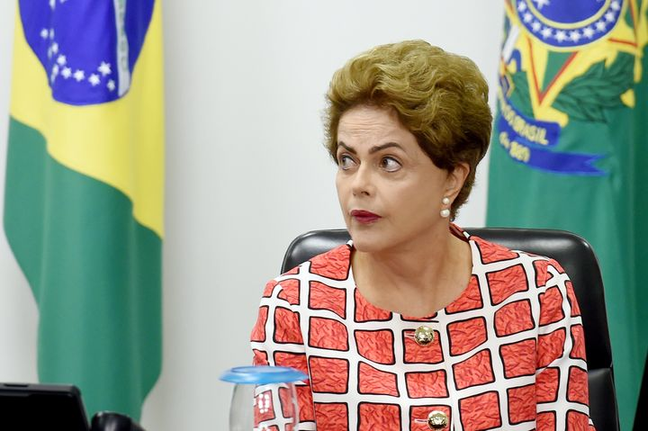 Brazilian opposition parties are attempting to unseat President Dilma Rousseff