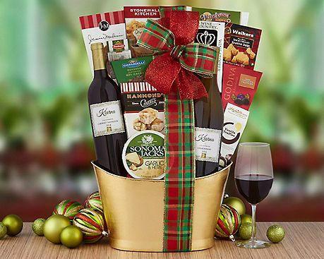 "Kiarna Vineyards Holiday Selection,&nbsp;$49.95 at <a href=""http://www.winecountrygiftbaskets.com/KIARNA-VINEYARDS-HOLIDAY-SE"